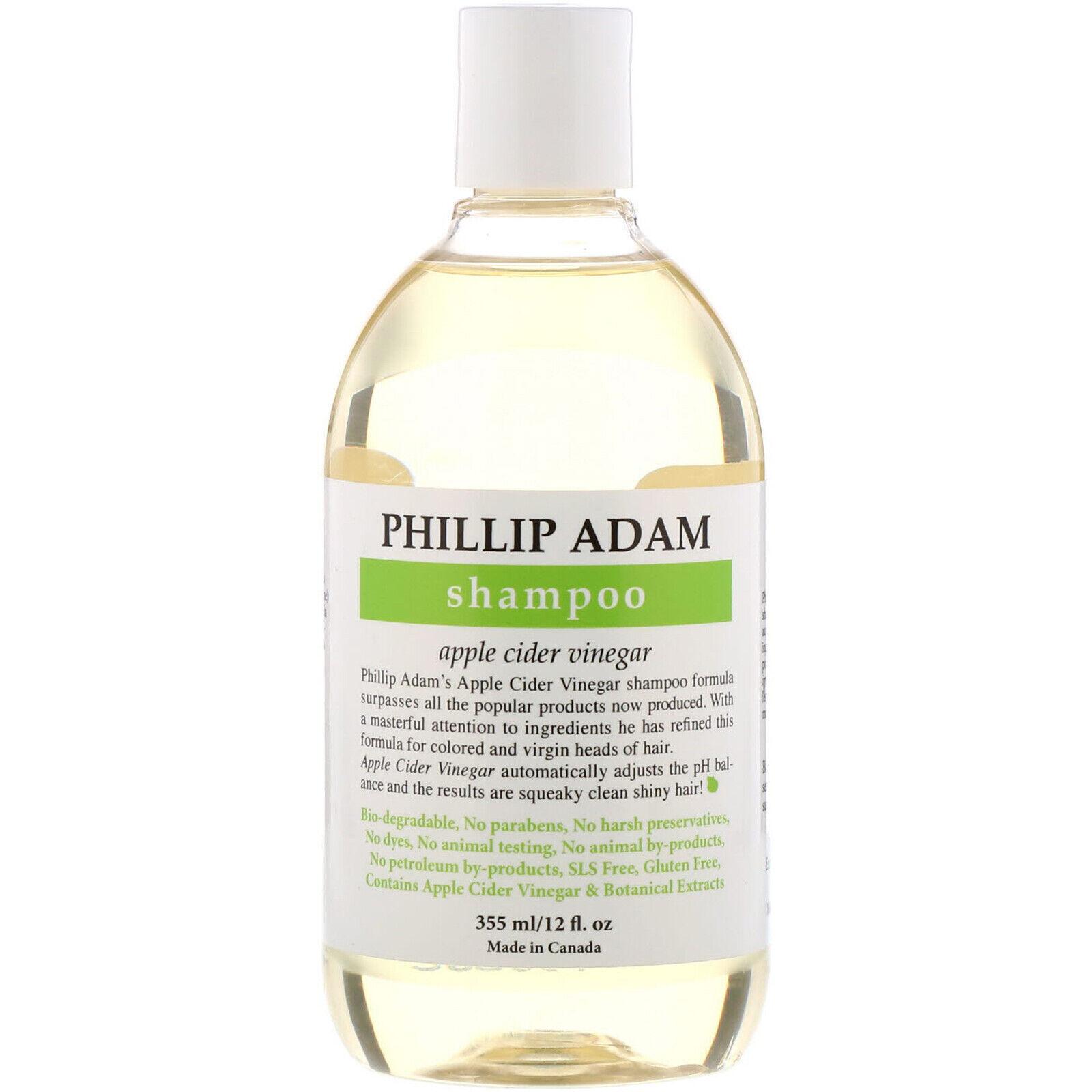 Phillip Adam Shampoo Apple Cider Vinegar 12 Oz For Sale Online Ebay
