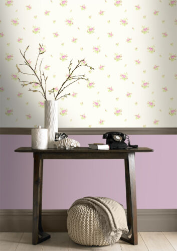 Rose Mini Chintz Dolly Mixtures Wall Decor Shabby Chic Design Studio