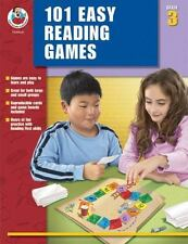 101 Easy Reading Games Grade 3 by Carson-Dellosa Publishing Comprehension