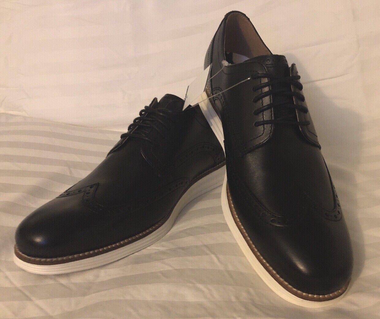 centro commerciale di moda Uomo Cole Haan Original Grand Shortwing Leather nero bianca 10 10 10  spedizione gratuita!