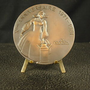 Medal-Advertising-80-mm-159-G-Candia-x-E-Anniversary-the-Dairy-Medal