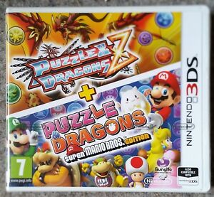 Puzzle Dragons Z Super Mario Bros Nintendo 3ds Game Brand New