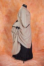 Kleid Viktorianisch Bustle Polonaise Kleid, Maßgeschneidert Farbauswahl