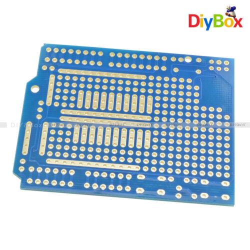 Prototype PCB for Arduino UNO R3 Shield Board FR-4 Fiber 2mm+2.54mm Pitch DIY