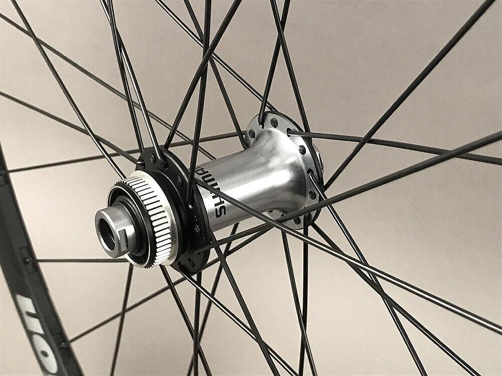 Image 3 - Vision-Trimax-Gravel-CX-Bike-Wheelset-Shimano-Ultegra-Hubs-12mm-Thru-Disc-Brake