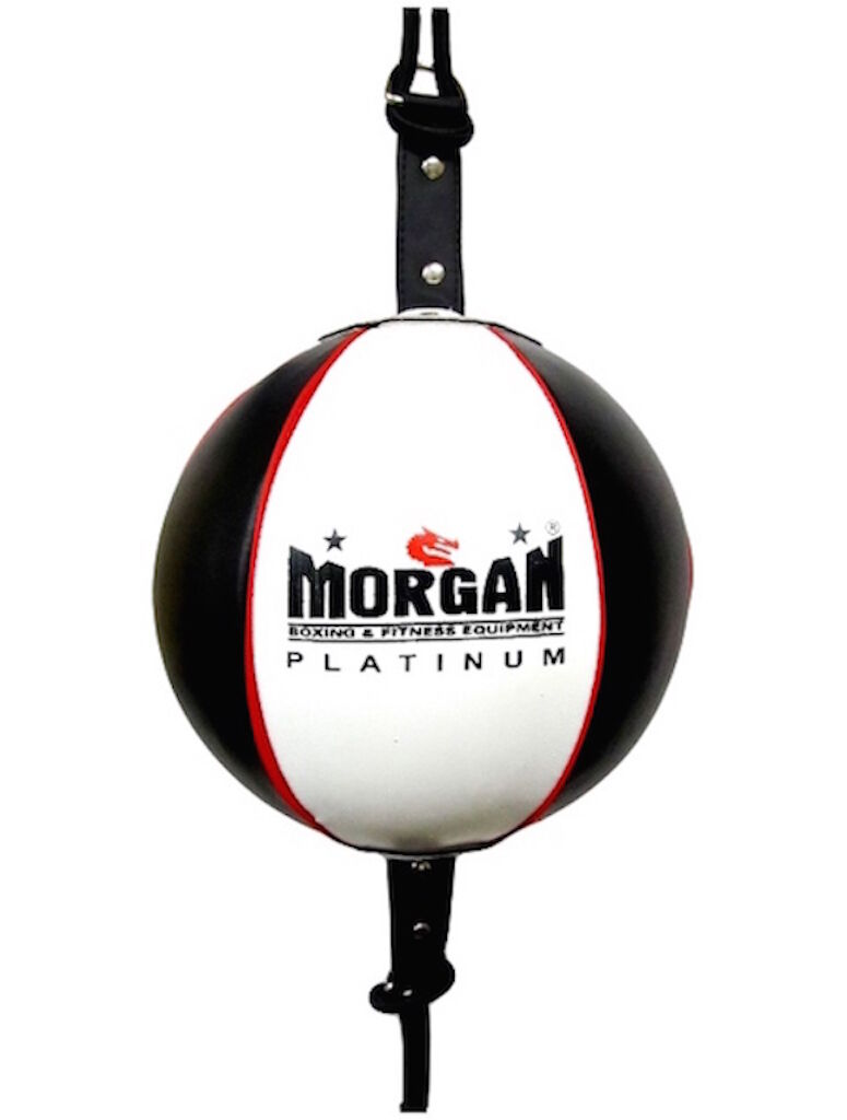 8  PLATINUM LEATHER FLOOR TO CEILING SPEED  BALL BOXING MMA TRAINING PUNCH  very popular