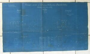 ANCIEN PLAN USINE SAINT JACQUES MONTLUCON 1919 LOCOMOTIVES BATIGNOLLES CHATILLON Fji0Z75c-09102636-344620945