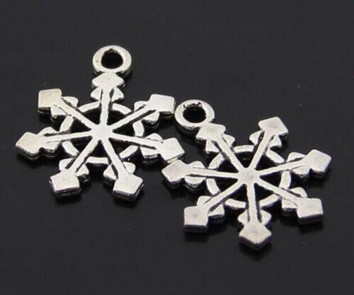 15pc Retro Tibetan Silver(Snow flower)Jewelry Accessories wholesale PJ2490