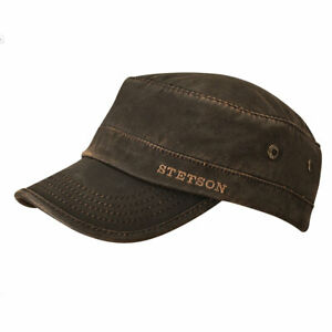 Casquette-Army-Cap-CO-PE-Lined-ref-7491120-STETSON-Homme-Femme-NEW-collection