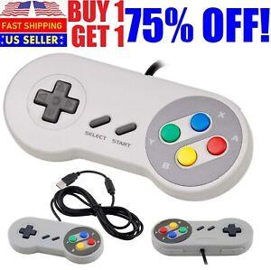 Classic-Retro-USB-Wired-Game-Controller-Joystick-For-Nintendo-NES-Windows-PC-OS