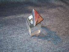 Sterling Silver 925 & Rhodochrosite Ring -  Size P