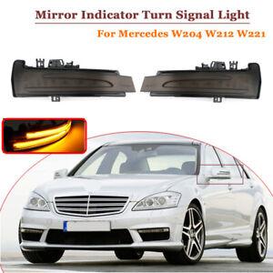 2x Dynamische Spiegelblinker LED Blinker MERCEDES W204 W212 W176 W221 W246 C117