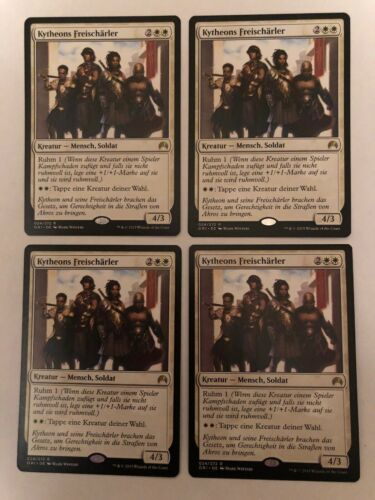 4x Magic Origins Kytheons Freischärler NM Magic Karte Magic The Gathering Mtg