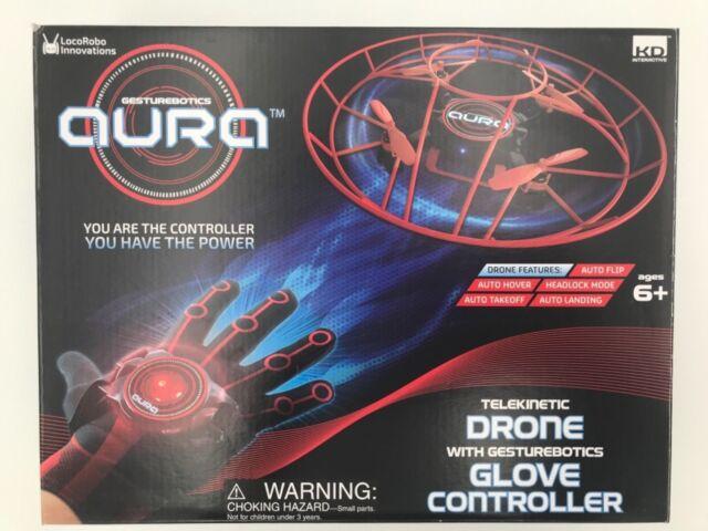 KD Interactive Aura Telekinetic Drone With Gesturebotics Glove Controller