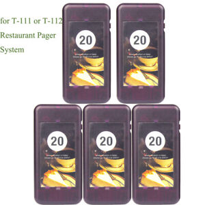 5Pack-Restaurant-Pager-for-Retekess-T-111-or-T-112-Wireless-Paging-System-433MHz