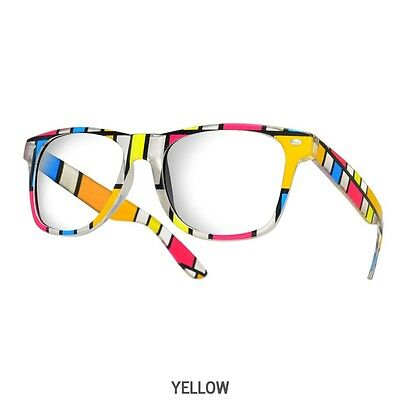 74e8723bb51 Wayfarer Reading Glasses +1.5 +2.5 Unisex 20 Models Trendy Designer Spring  Geek