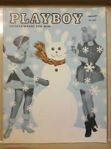 Playboy-February-1955-Very-Good-Condition-Free-Shipping-USA