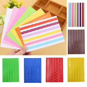 CHENGYIDA DIY 13stlye x 102pcs//Sheet Self-adhesive Photo Album Corner Stickers Scrapbook Album Essential Scrapbook Paper