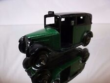 DINKY TOYS 36G VINTAGE TAXI - GREEN 1:43 - GOOD CONDITION