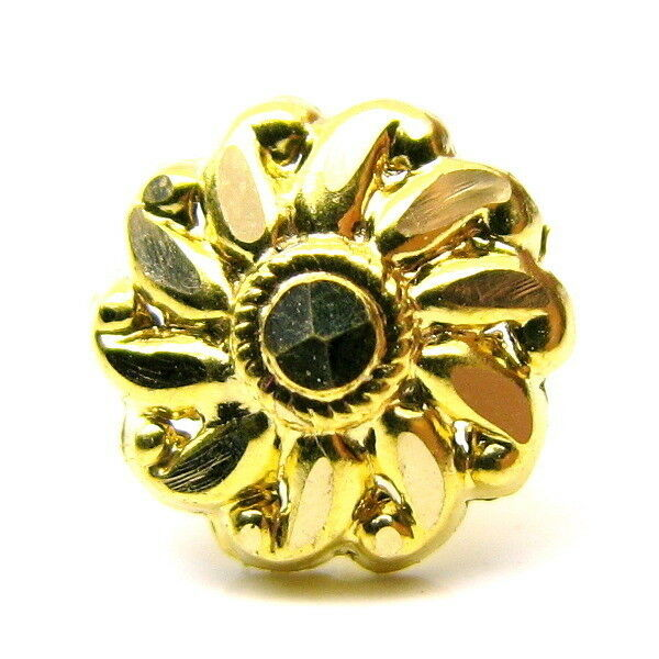 Ethnic Style 17-18g Body Piercing Nose Stud Pin 14k Yellow gold Mothers day