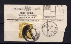 Edward-VII-3d-utilise-sur-Parcel-Post-label