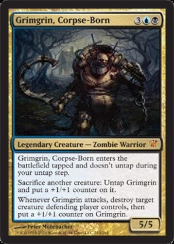 Innistrad Japanese MTG Magic JAPANESE Grimgrin NM Corpse-Born