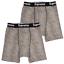 thumbnail 1 - Supreme Men's 100% Authentic 2 Pack Leopard Boxer Briefs