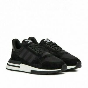 Adidas-Originals-ZX-500-Rm-Boost-B42227-Black-White-Sneakers-Lifestyle-SZ-6-13