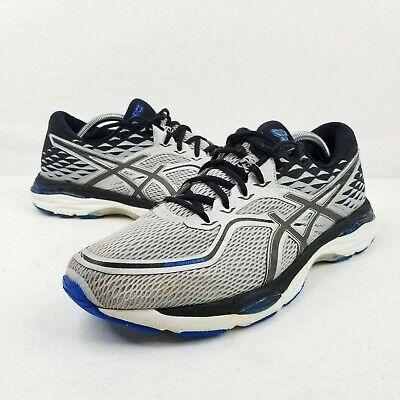 Asics Gel Cumulus 19 Gray Blue Athletic Men's Running US 11