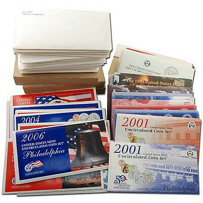 1993 P /& D US Mint Set United States Original Government Packaging Box Cello