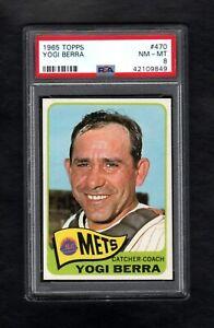 1965-TOPPS-470-YOGI-BERRA-HOF-METS-PSA-8-NM-MT-CENTERED