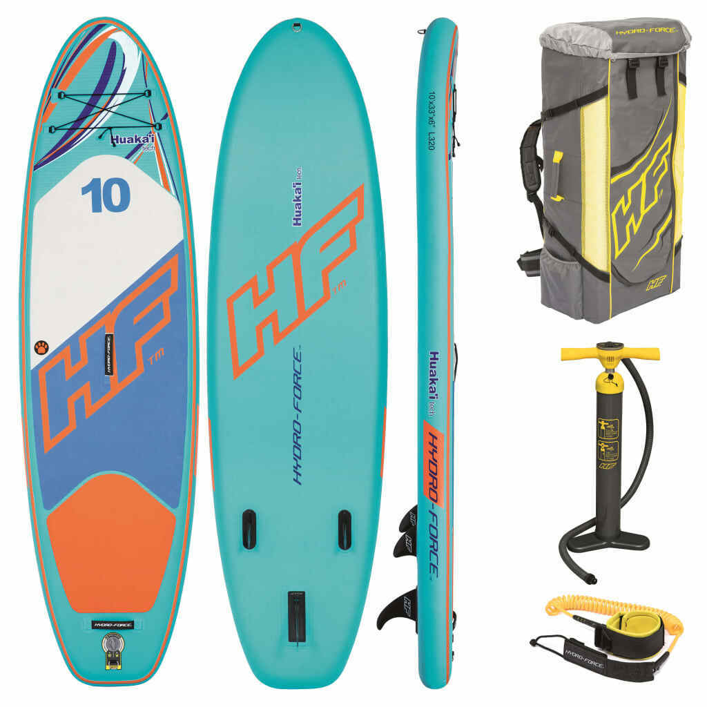 Bestway Hydro-Force Inflatable Paddleboard Set Huaka'i Tech Stand-up Surfboard