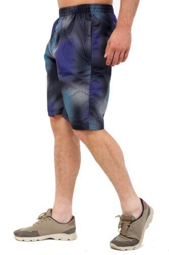 Da Uomo Quick Dry Pantaloncini Nuoto Stampato Mesh foderato spiaggia estate costumi da bagno NUOVO