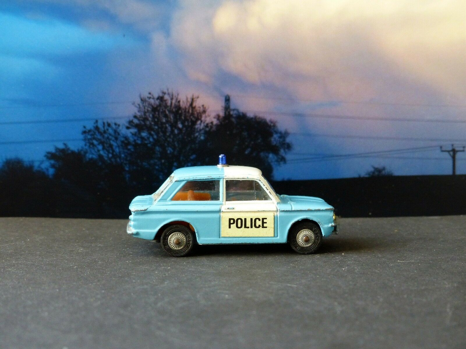 Corgi Toys 506 Police 'Panda' Sunbeam Imp