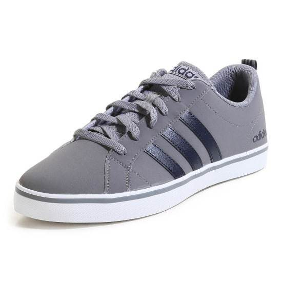Adidas Mens Pace Nubuck Trainers, Adidas Mens Court Shoes - Grey - Size 6-13