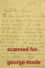 ENGELBERT HUMPERDINCK - AUTOGRAPH LETTER - SIGNED - 1897 - HANSEL AND GRETEL