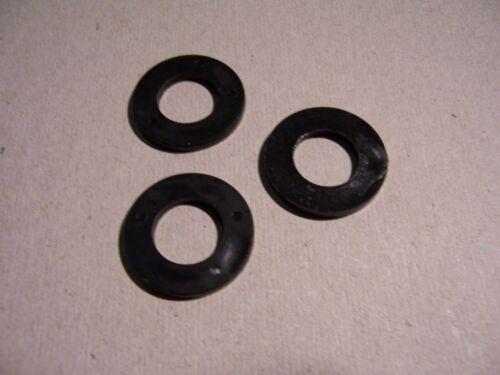 4,3x9x0,8 100St Polyamid schwarz Scheiben DIN 125
