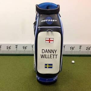 Odyssey-Staff-Tour-Bag-10-034-6-Wege-mit-034-Danny-Willett-034-Custom-Verkleidung