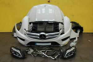 2017-Mercedes-GLE-250D-2-1-AMG-Automatic-Complete-Front-End-Bumper-Headlight-etc