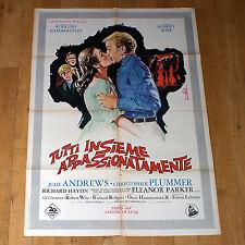 TUTTI INSIEME APPASSIONATAMENTE manifesto poster Julie Andrews Plummer Musical