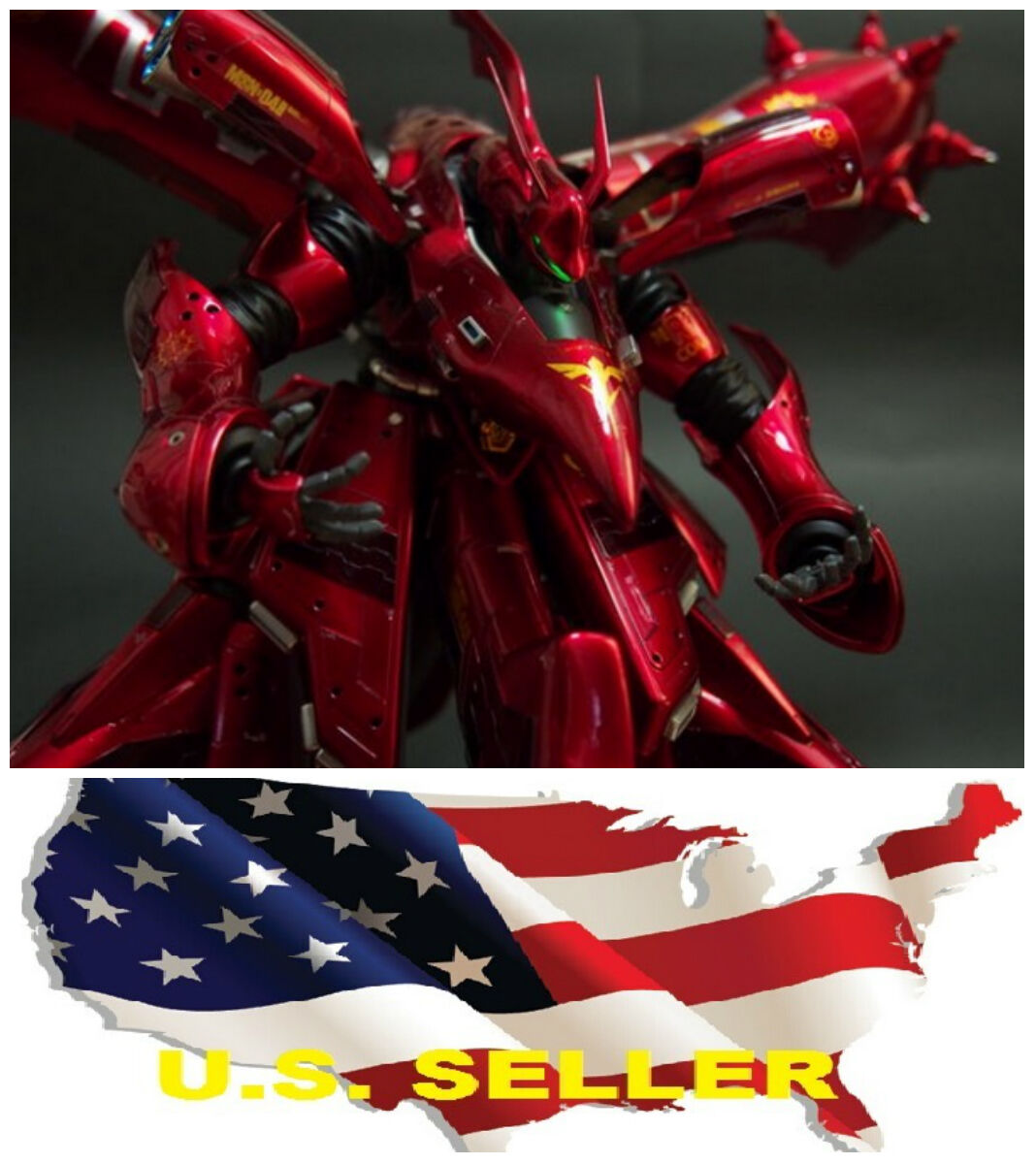 Metal Detail-Up Parts Set For MG RE 1 100 Nightingale Gundam RED ❶❶US seller❶❶