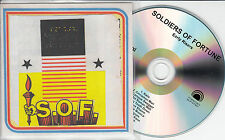 SOLDIERS OF FORTUNE Early Risers 2015 UK 10-track promo test CD