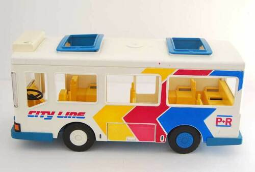 Ligne de bus Playmobil City Line Réf.   3778. Raro