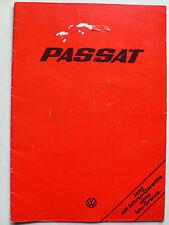 Prospekt Volkswagen VW Passat 1. Modell, 8.1975, 26 Seiten