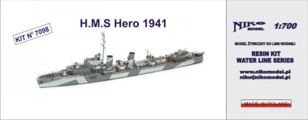 ofrecemos varias marcas famosas HMS Hero Hero Hero 1941 1 700  cómodamente