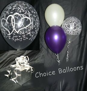 Engagement-or-Wedding-Balloons-Entwined-Hearts-10-Table-Displays-DIY-Kit