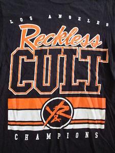11b4cfa4ffd YOUNG   RECKLESS Y R CULT T SHIRT Streetwear Skater Punk Los Angeles ...