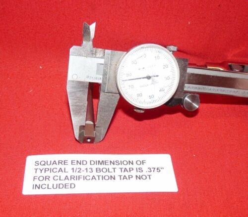 "Irwin 12088 Bolt Tap Reamer Handle Adjustable Holder TR-88  0-1//2  3mm-12mm 9/"""