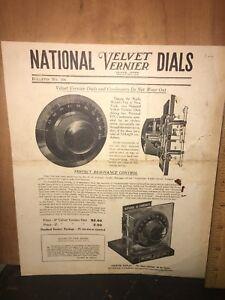 Vintage-National-Company-Velvet-Vernier-Brochure-Bulletin-No-104