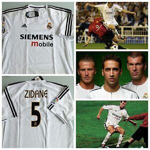 Ronaldo Real Madrid 2002//03 Jersey Camiseta Shirt Zidane Beckham Bale Ramos Raul